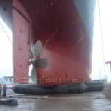 Buoyancy Salvage Marine Airbag para embarcações / Barge / Ship Launching and Dry Docking, Marine Balloon Pull to Shore Heavy Lift em Shipyards