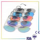 2016 lunettes de soleil fraîches d'usager avec la forme personnalisée par clavette pour le cadeau