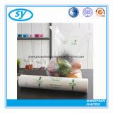 LDPE-Jungfrau-materieller freier Plastiknahrungsmittelbeutel
