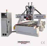 Máquina de gravura 1530 do CNC com auto mudança da ferramenta