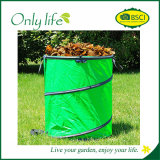 Onlylifeの緑によっては容易に現れる大きい容量の庭の不用な袋が運んだ