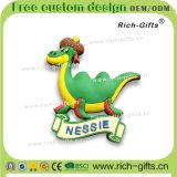 Магниты холодильника PVC подгоняли Nessie Британию подарков промотирования (RC-UK)