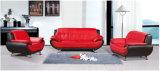 Sofá de cuero de combinación de alta densidad para muebles de sala (819)