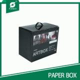손잡이 (FP200056)를 가진 주문 서류상 예술 상자