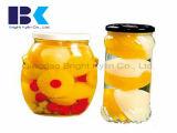 Bottiglie di vetro della pesca gialla inscatolata Assorted