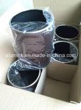 Escaninho Waste envolvido e metal pintado do couro de couro do escaninho Waste