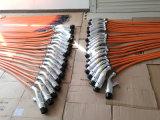 Chademo와 결합 연결관 2개를 가진 EV 최고 충전기