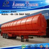Quatre remorques de pétrolier d'essieu/50000 litres de réservoir de carburant remorque de réservoir de transport de remorque/essence semi