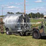Sistema de barreras del alambre de la maquinilla de afeitar de los militares y de la policía