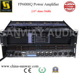 Poder más elevado 4 Channel Power Amplifier Sound Standard para Church