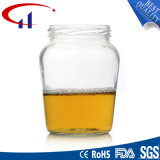 650ml de grote Container van het Glas van de Grootte voor Honing (CHJ8051)
