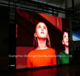 Parede ao ar livre do vídeo do diodo emissor de luz da cor cheia P4.44