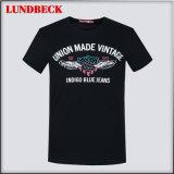 T-shirt da forma para o pano da cópia dos homens na boa qualidade