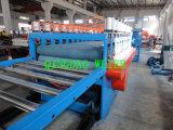 Cadena de producción del modelo de la construcción de WPC