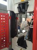 maquinaria extensible de la prueba 60ton con el ordenador y la impresora