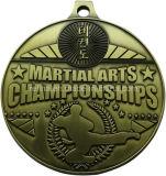 カスタム体育の競争の空手のチャンピオンの挑戦メダル