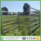 Panneau en acier portatif de bétail de Galvinized de prix bas de qualité
