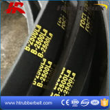 V-Belt plat bordé cru/courroie crantée/courroie en caoutchouc de la boîte de vitesses V