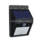 lumière actionnée solaire de mur de détecteur de mouvement de 4LED PIR (RS2003-4)