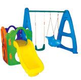 Kids Play Games Plastic Slide Centro de jogos de jardim de infância (M11-09109)