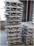 Слиток 99.7% 99.9% высокой очищенности алюминиевый