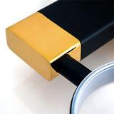 Erogatore manuale del sapone liquido della stanza da bagno d'ottone dorata sanitaria degli articoli per la stanza da bagno