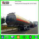3 de Aanhangwagen van de Tanker van de Brandstof van het Roestvrij staal van de as