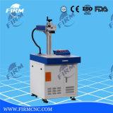 Macchina per incidere della marcatura del laser della fibra per incisione di piastra metallica
