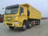 De Vrachtwagen van de stortplaats /Tipper