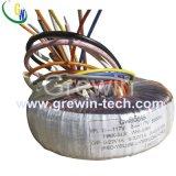 Transformador toroidal de la potencia de encargo para el equipo audio