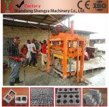 Qtj4-40b de HandMachine van de Baksteen van de Pers Concrete met Mixer Jq350