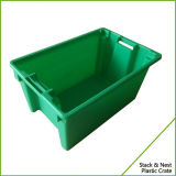 Embalaje plástico llenado de la pila y de la jerarquía para los pescados