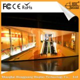 Hohe Wand Pantalla LED-Bildschirmanzeige der Lösungs-P4 Innen-LED