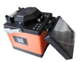 中継線およびFTTXの構築のために有能なデジタル光ファイバ融合のスプライサ機械Tcw605