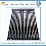 Colector termal solar evacuado del tubo del tubo de calor