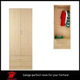 가정 나무로 되는 벽 옷장 침실 나무로 되는 Almirah 디자인