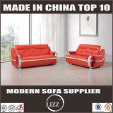 Sofa en cuir moderne de loisirs de salle de séjour chaude de vente