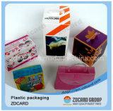 각종 디자인 다채로운 인쇄된 플라스틱 PVC 상자