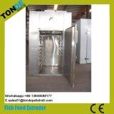 Máquina de secagem de alimento de peixes da circulação da bandeja do aço inoxidável