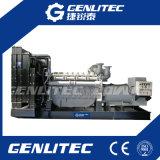 Генераторы электростанции 1000kVA звукоизоляционные с двигателем Perkins (4008TAG2A)