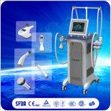 Cavitazione ultrasonica multifunzionale di vuoto rf che dimagrisce macchina