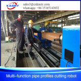 Máquina de estaca Kr-Xf8 do perfil da tubulação do CNC da maquinaria do cortador do plasma da fabricação de metal