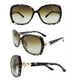 Gafas de sol plásticas de la manera del diseñador a estrenar para las mujeres/señora (DP1231YZ)