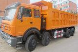 Camion- de Beiben de camion à benne basculante de roue de la technologie 12 de benz