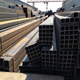 pipa de acero cuadrada soldada con autógena uso de la estructura de acero de 100X100m m x de 6m m