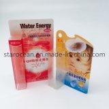 Коробка PVC внимательности кожи складывая для карандаша вкладыша глаза