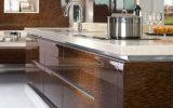 Armário de cozinha lustroso elevado da laca do piano da venda quente (ZS-837)
