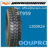 TBR Reifen-China-guter Preis-Hochleistungs-LKW-Gummireifen 1200r24