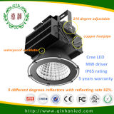 5 años de la garantía IP65 300/400/500W de alta luz industrial de la bahía de la lámpara LED