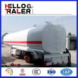 Tipo rimorchio del semirimorchio del camion di autocisterna del combustibile del serbatoio di benzina dell'Tri-Asse 40000L-60000L
